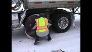 Тест на вериги за сняг - Autosock a Revolutionary Invention