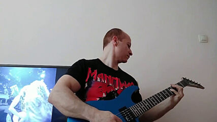 Oki Guitar Player-living On A Prayer (bon Jovi cover)