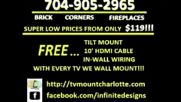 Tv Mounting Service Charlotte Nc 704-905-2965 Free Tv Mount With Installation - Youtube