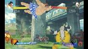 Street Fighter E.honda vs Rufus