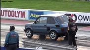 Полски Фиат вдига на задни гуми