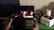 Минутка: Пич играе Doom с тостери