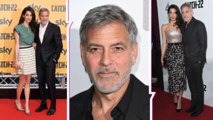 Притеснително: Приеха Джордж Клуни в болница след рязко отслабване