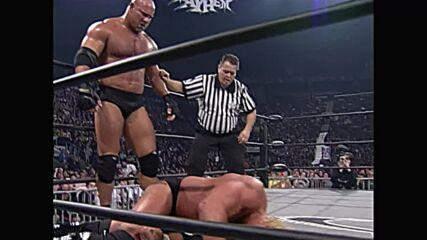 """Goldberg vs. Sid Vicious – """"I Quit"""" Match: WCW Mayhem 1999 (Full Match)"""