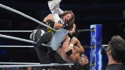 "WWE Champion AJ Styles vs. Andrade ""Cien"" Almas: SmackDown LIVE, Sept. 18, 2018"