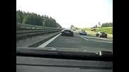 Audi R8 Vs Bmw 335i - 260km/h