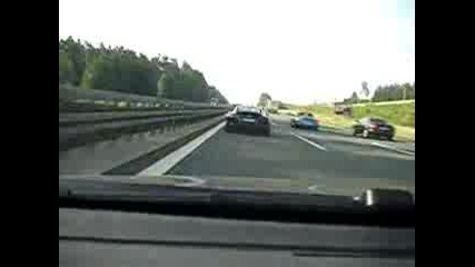 Audi R8 Vs Bmw 335i - 260km/h