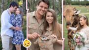 Дъщерята на Ловеца на Крокодили - бременна! Бинди Ъруин чака бебе воин за дивите животни