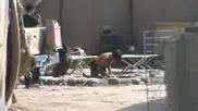 Afghan Army Mortar Team Firing