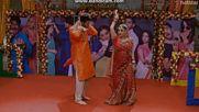 Сандия и Сурадж; Мена и Викрам; Арзу и Чоту; Емили и Ом танцуват