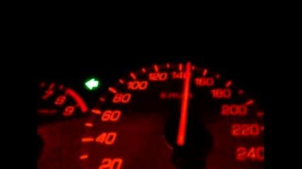 Honda Civic Type R Набира От 0 - 160 Км!!