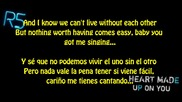 Easy Love - R5 [english and Spanish Lyrics]