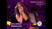 Dulce Maria canta Ya No en Teleton Mexico