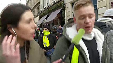 France: Eyewitness recalls how Yellow Vest protester lost hand in Paris *PARTNER CONTENT*