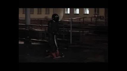 Ghost Rider - Дърпане Със Шейна