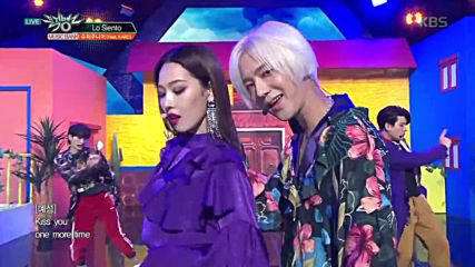 ❥ ❥ Super Junior - Lo Siento Feat. Kard | Music Bank 180413 ❥ ❥