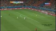 Испания - Холандия 1:5 Световно Първенство По Футбол Бразилия 2014