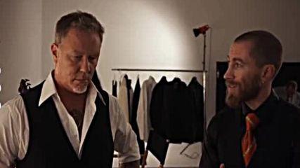 James Hetfield & Brioni, 2016