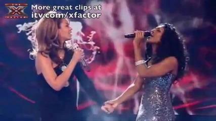 Alexandra Burke and Beyonce Duet - Listen X Factor 2008