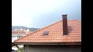 Началото на краткотрайна буря в Дупница - 16.06.2011г.