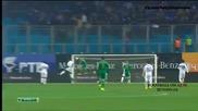 Динамо ( москва ) 2 - 1 Панатинайкос ( лига европа ) ( 27/11/2014 )