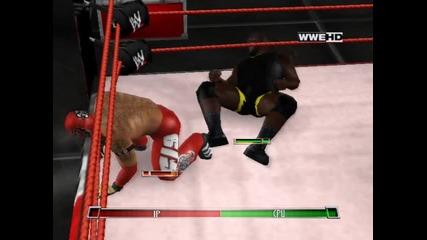 Wwe Raw Ultimate Impact - Rey Misterio vs Mark henry - Wwe title mach!