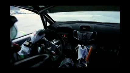 Ken Blok s negovata Ford Fiesta