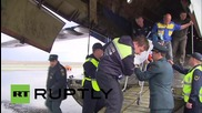 Russia: Earthquake evacuees saved by EMERCOM arrive in Moscow