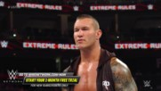 Randy Orton brutally stomps on a defenseless Jeff Hardy: WWE Extreme Rules 2018 (WWE Network Exclusive)