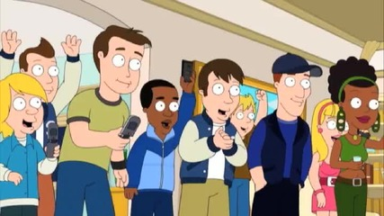 Пародия с Kanye West - Freestyle Battle The Cleveland Show