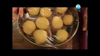 Самоса с пилешко, туршия от зеле и цвекло, оризова супа, Медовик - Бон Апети(02.01.2013)