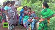 India: 13 dead after wedding party vehicle collides with oncoming bus *GRAPHIC*