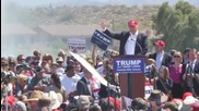 USA: 'Nobody's going to mess with us anymore' says Trump as clashes explode in Arizona