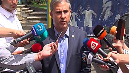 Васил Божков предложи анкета за новия собственик на Пфк Левски