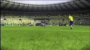Fifa 09 - Roberto Carlos vs France