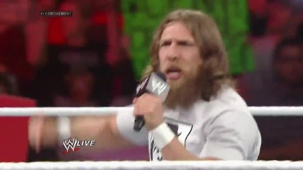 Daniel Bryan occupies Raw (10.03.14)