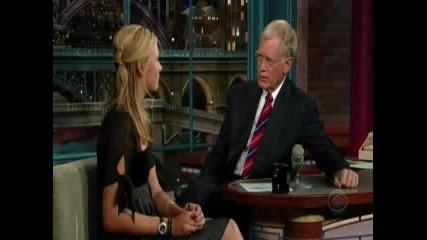Шарапова В Шоуто На Letterman - Част 1