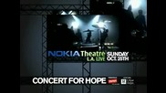 Concert For Hope - Nokia Theatre La Live - October 25