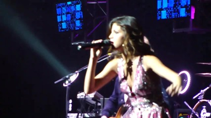 Selena Gomez live at Concert for Hope - Naturally