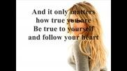 Hilary Duff - Someone's watching over me (lyrics)