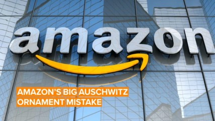 Amazon's Auschwitz-themed Xmas products got back-lashed hard