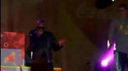 Taio Cruz ft. Touch Down - Higher - LIVE IN SOFIA, BULGARIA 2011