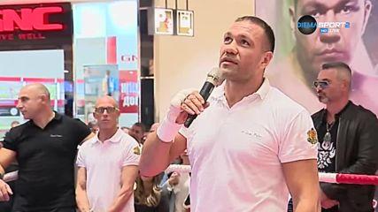 Кобрата: Не трябва да губя, защото искам да оправдая очакванията на българите
