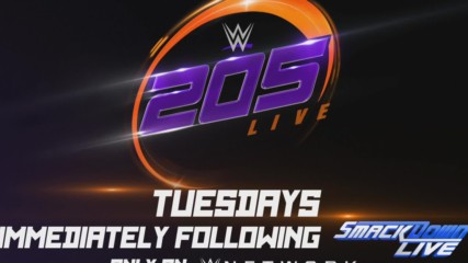Don't miss WWE 205 Live every Tuesday after SmackDown Live