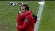 14.03.10 Манчестър Юнайтед - Фулъм 2:0 Супер Асистенция на Димитър Бербатов за гола на Рууни!