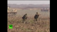 Руските въздушно-десантните войски (вдв) на тренировка в Сърбия