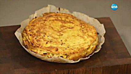 Палачинкова торта с пилешко - Бон апети (12.07.2016)