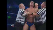 Smackdown 08/07/09 Jeff Hardy напада Cm Punk