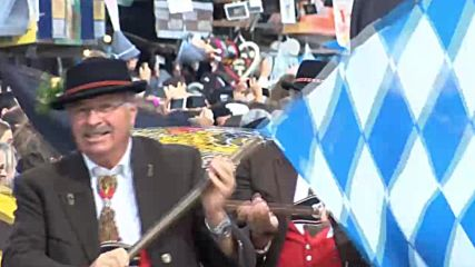 Germany: Traditional parade kicks off 185th Oktoberfest in Munich