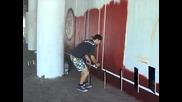 Съкровища оживяват като графити в подлеза на Централна поща в Пловдив